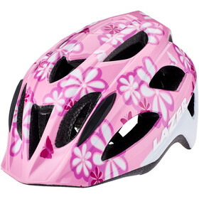 Lazer P'Nut Helmet with Insect Net Kids pink flowers